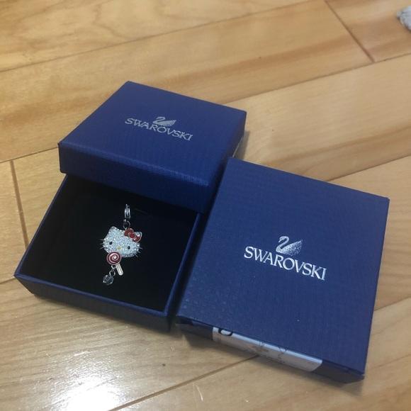 Swarovski crystal Hello Kitty charm